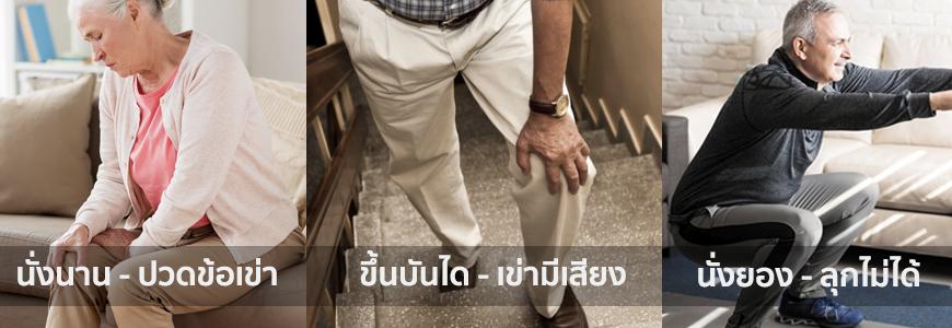 ปัญหาเข่าผู้สูงอายุ